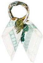 Hermes Les Légendes de l'Arbre Silk Scarf