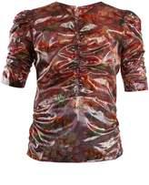 Isabel Marant Floral-print V-neck top