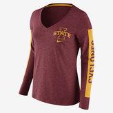 Nike College Tri Modern Sport Mid V (Iowa State) Women's T-Shirt