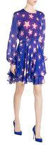 Just Cavalli Printed Chiffon Dress