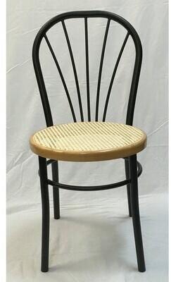 Winston Porter Arlie Dining Chair (Set of 2 Color: Black