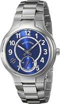 Philip Stein Teslar Men's 42-SBL-SS Analog Display Japanese Quartz Silver Watch