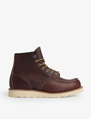 Red Wing Shoes Work wedged leather boots