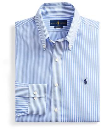 Ralph Lauren Custom Fit Striped Fun Shirt
