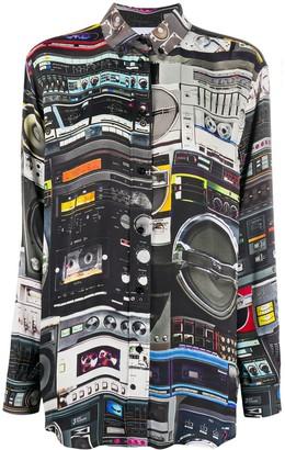 Moschino Speaker-Print Shirt