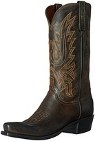 Lucchese Classics Men's Cole-ch Burn Md Goat Riding Boot