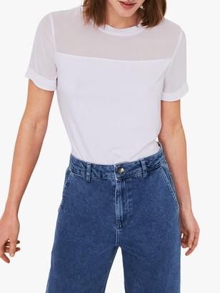 Warehouse Woven Mix T-Shirt