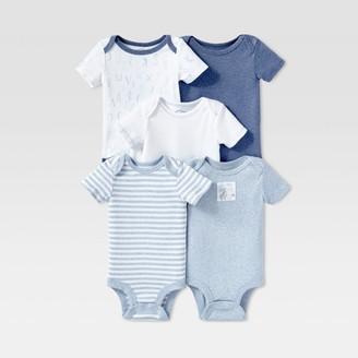 Lamaze Baby Boy' Organic Cotton 5pc hort leeve Bodyuit et - 24M