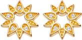 Astley Clarke Mini Sun 18ct yellow gold-plated stud earrings