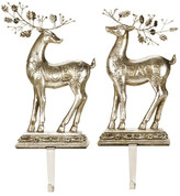 "Mark Roberts Deer 15"" Stocking Holders - Set of 2"
