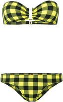 Laura Urbinati strapless checkered bikini - women - Polyamide/Spandex/Elastane - 42