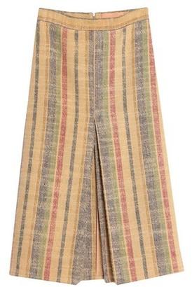SUPER BLOND 3/4 length skirt