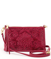 Hobo Cadence Damask-Embossed Cross-Body Bag