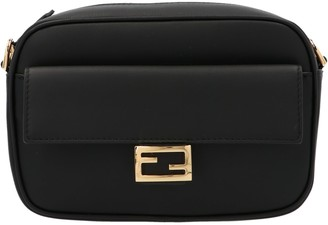 Fendi Black Leather Mini-bag