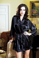 iCollection Lingerie iCollection Women's Satin Robe