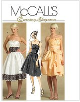 Mccall's M5382 Misses' Dresses and Sash