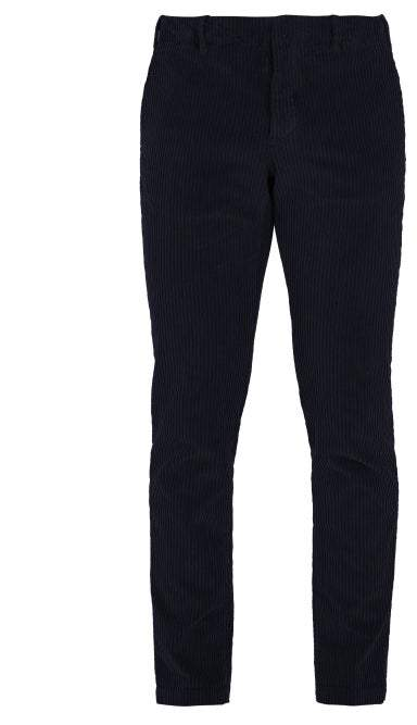 Incotex Slim Fit Cotton Blend Corduroy Trousers - Mens - Navy