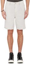 John Varvatos Men's Slub-Weave Shorts-LIGHT GREY, GREY