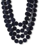 Natasha Accessories Fashion Necklace Navy