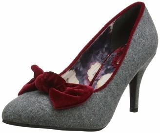 Joe Browns Women's Rockefeller Velvet Bow Shoes Closed Toe Heels