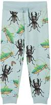 Mini Rodini Light Blue Insects Sweatpants