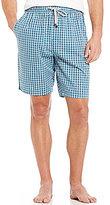 Michael Kors Woven Checked Pajama Shorts