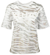 Kenzo Tiger Striped T-Shirt