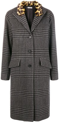 Miu Miu Houndstooth Coat