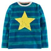 Boden Boys' Maritime Yellow & Blue Fisherman Tee.