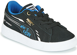 Puma SUEDE SONIC boys's Shoes (Trainers) in Black
