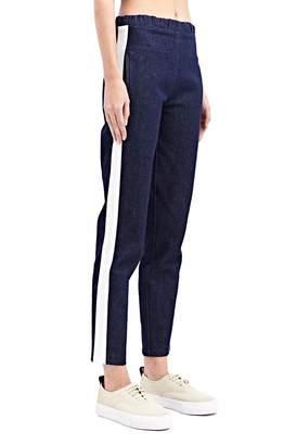 Charlie May Denim Track Pants