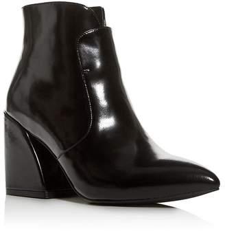 Jeffrey Campbell Women's Pointed-Toe Block-Heel Booties