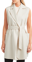 Max Mara Weekend Bondeno Double Faced Waistcoat, White