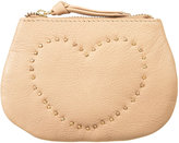 Topshop Leather Zip Coin Purse
