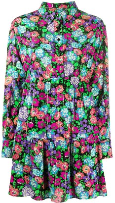 BA&SH Poldie floral-print shirt dress
