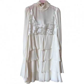 Giamba White Dress for Women