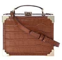 Aspinal of London Women's Brown Leather Handbag.
