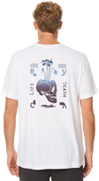 RVCA Life And Death Mens Tee White