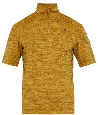 Gmbh - Saim Quarter-zip Top - Mens - Yellow