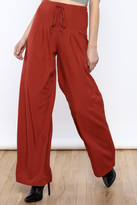 Hommage Lace Up Flare Pant