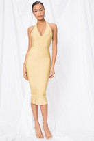 superdown Desi Halter Bodycon Dress