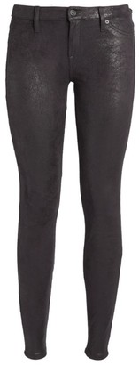 7 For All Mankind The Skinny Leather-Like Jeans