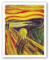 "McGaw Graphics The Scream by Edvard Munch 32""x24"" Art Print Poster"