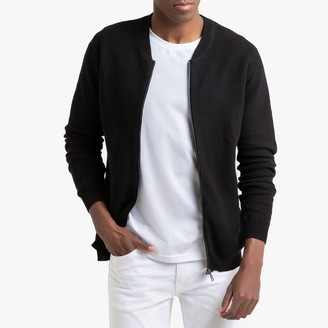 La Redoute Collections Cotton Bomber Cardigan