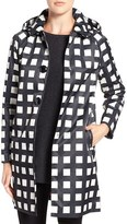 Kate Spade Women's Removable Hood Macintosh Coat