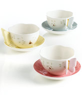 Lenox Dinnerware, Butterfly Meadow Cup and Saucer Set
