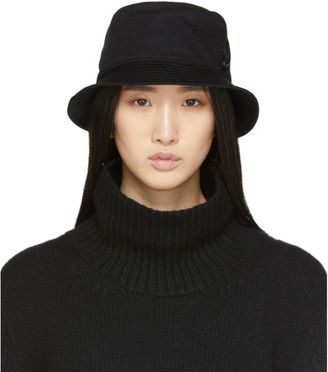 Maison Michel Black Jason Bucket Hat