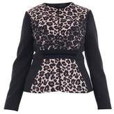 Clips Women's Black Polyester Jacket.
