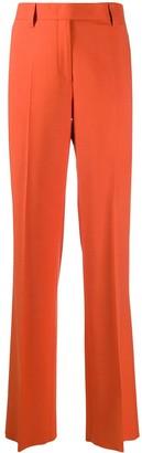 Salvatore Ferragamo High-Rise Straight-Leg Trousers