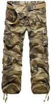 Tortor 1bacha Men's Multi Pocket Cargo Pants